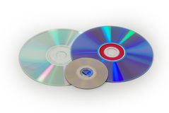 Three disks Royalty Free Stock Photo