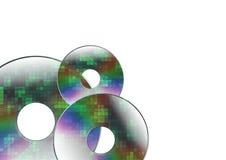 Three disks Royalty Free Stock Photography