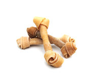 Three dog bones Stock Photography