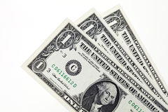 Three dollars Royalty Free Stock Image
