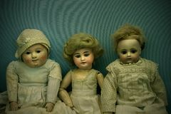 Three Dolls Stock Image