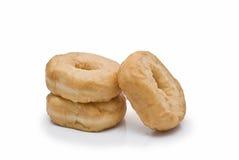 Three donuts. Royalty Free Stock Photos