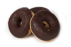 Three donuts Stock Photos