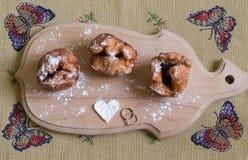 Three donuts Royalty Free Stock Image
