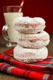 Three donuts Stock Photography