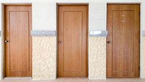 Three door of your choice Royalty Free Stock Photos