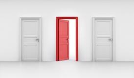 Three doors Stock Photography