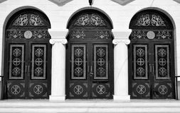 Three doors of Orthodox Church. Stock Images