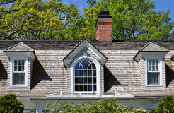 Three dormers Royalty Free Stock Photos