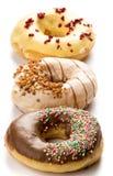 Three doughnuts Royalty Free Stock Photography