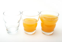 Three Drinks Royalty Free Stock Images
