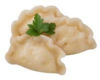 Three dumplings Royalty Free Stock Photo