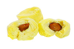 Three Durian Cloves Royalty Free Stock Photography