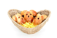 Three easter bunnys Royalty Free Stock Photography