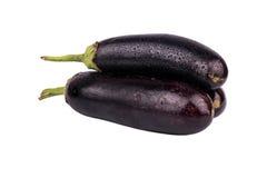Three eggplant Royalty Free Stock Image