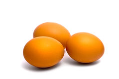Three eggs Royalty Free Stock Photos