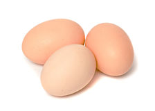 Three eggs Royalty Free Stock Photography