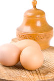 Three eggs Royalty Free Stock Photos