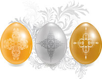 Three eggs Royalty Free Stock Photo