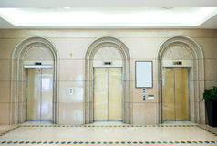Three elevator Royalty Free Stock Photography