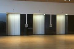Three elevators Royalty Free Stock Images