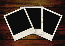 Three empty grunge frame Royalty Free Stock Photo