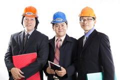 Three Engineers prepared workong Stock Photo