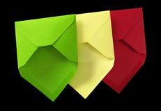Three envelope. Royalty Free Stock Photo