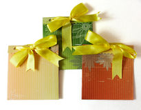 Three envelopes Stock Photography