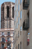 Three eras of Barcelona Royalty Free Stock Images