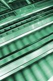 Three escalators Royalty Free Stock Images