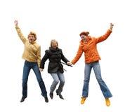 Three expressive women Royalty Free Stock Image