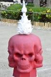 Three face skull Stock Photography