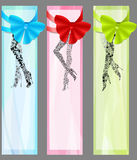 Three fashion banners Royalty Free Stock Images