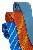Three fashionable ties Royalty Free Stock Images