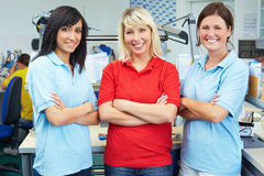 Three female dentists Royalty Free Stock Photo