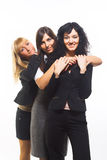 Three female friends Stock Image