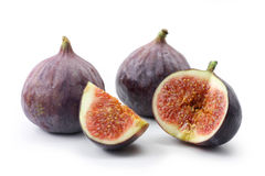 Three figs Royalty Free Stock Image