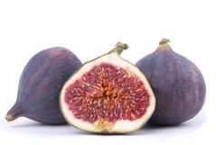 Three figs Royalty Free Stock Image