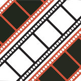 Three Filmstrips. Vector illustration of three filmstrips Royalty Free Stock Photography