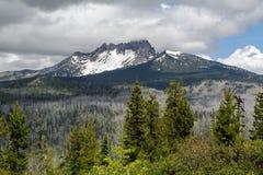 Three Fingered Jack Mountain, Oregon Stock Photography