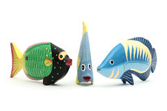 Three fishes Stock Photography