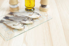 Three fishes. Royalty Free Stock Images