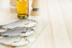 Three fishes. Stock Image