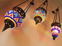 Three fixturesin turkish style Royalty Free Stock Photography
