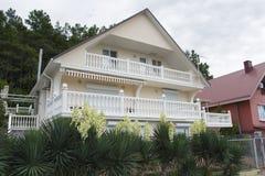 Three-floor cottage Royalty Free Stock Photos