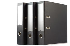 Three folders Stock Photo