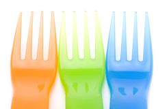 Three fork Royalty Free Stock Photography
