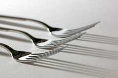 Three forks Royalty Free Stock Image