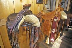 Three Forks Custom Saddlery, MT Stock Photo